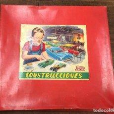 Juguetes antiguos Payá: CAJA DE CONSTRUCCIONES PAYA CON PIEZAS. AÑO 1958. INCOMPLETO. Lote 222324191