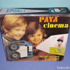 Juguetes antiguos Payá: PROYECTOR SUPER 8 PAYA CINEMA ORIGINAL AÑOS 70 MADE IN SPAIN REFERENCIA 4202. Lote 222364105