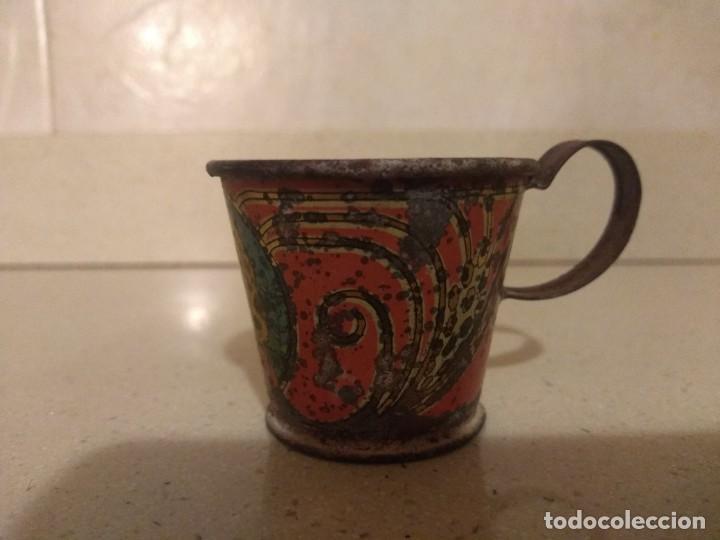 Juguetes antiguos Payá: Antigua taza Payá años 30 - Foto 2 - 222378208