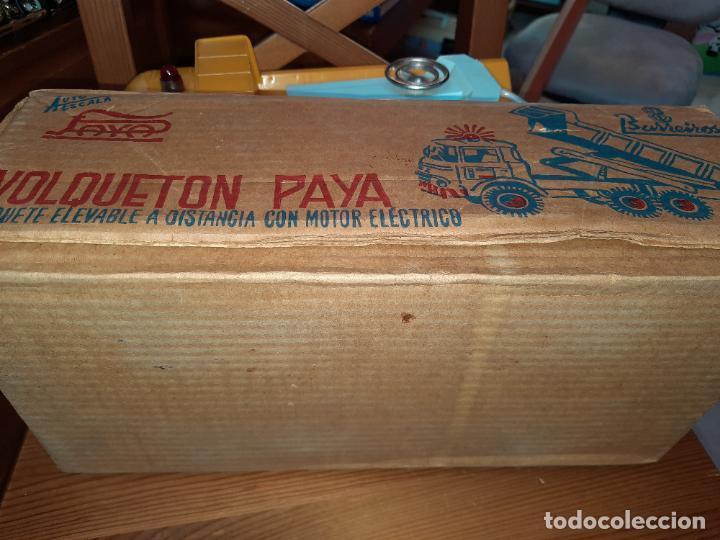 Juguetes antiguos Payá: PAYÁ,BARREIROS VOLQUETÓN DE OBRAS PUBLICAS,EN SU CAJA ORIGINAL,HOBBYLLALBA. - Foto 9 - 228016970