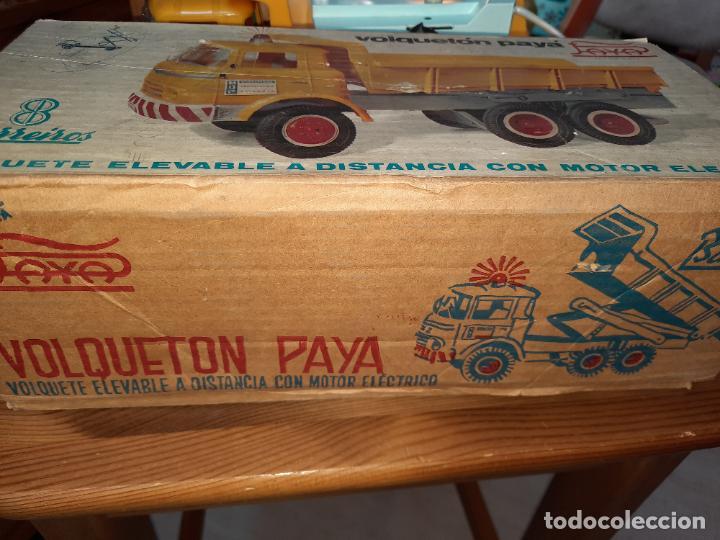 Juguetes antiguos Payá: PAYÁ,BARREIROS VOLQUETÓN DE OBRAS PUBLICAS,EN SU CAJA ORIGINAL,HOBBYLLALBA. - Foto 10 - 228016970