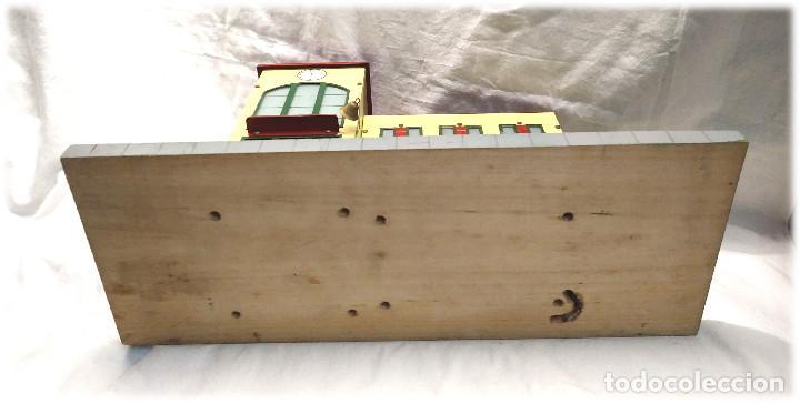 Juguetes antiguos Payá: Estacion de Tren 2 Cuerpos de Paya Ref 1266 en caja de Origen, años 50 - Foto 6 - 233231885