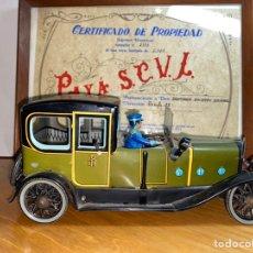 Giocattoli antichi Payá: COCHE REPRODUCCIÓN ORIGINAL DE PAYÁ CON CERTIFICADO. Lote 233918180
