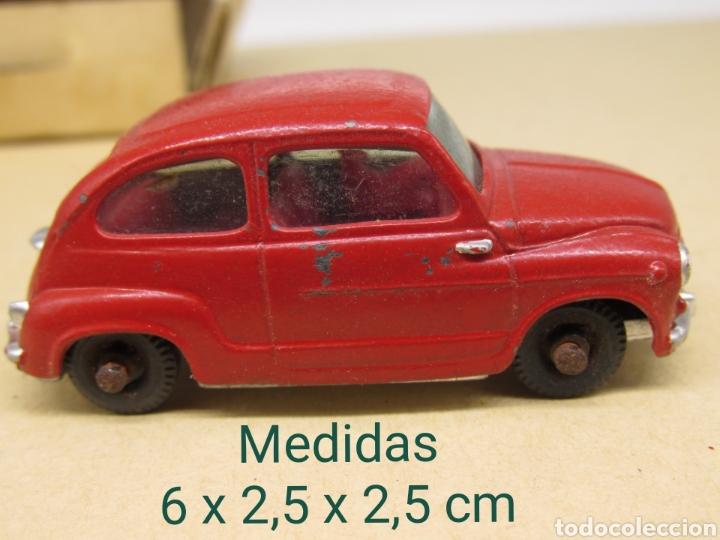 PAYÁ SEAT 600 CON CONDUCTOR AÑOS 60 (Juguetes - Marcas Clásicas - Payá)