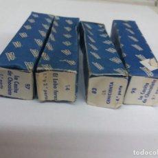 Juguetes antiguos Payá: LOTE DE 4 PELICULAS PAYA, SIN ESTRENAR. NOS. 14 - 83 - 97 Y 98. LOBO FEROZ, CENICIENTA, CASITA CHOC. Lote 235460250