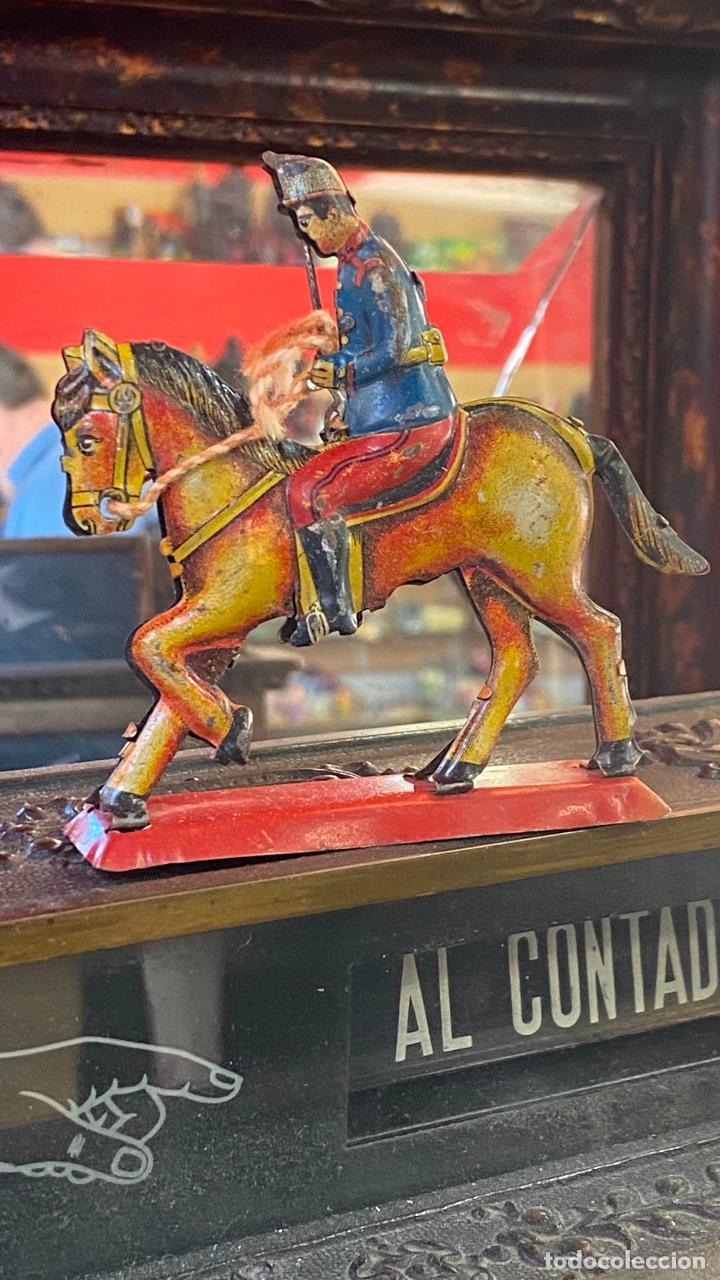 Juguetes antiguos Payá: CABALLO HOJALATA PAYA - Foto 4 - 236142670