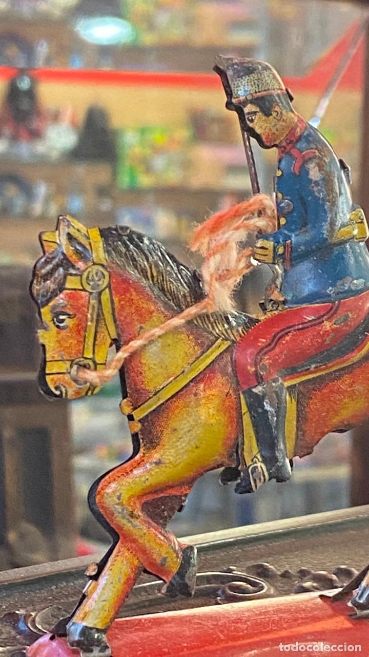 Juguetes antiguos Payá: CABALLO HOJALATA PAYA - Foto 5 - 236142670