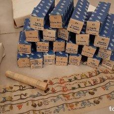 Juguetes antiguos Payá: LOTE ANTIGUO 22 PELICULA CINE PAYA PROYECTOR AÑOS 60 JUGUETE DIBUJOS LINTERNA MAGICA WALT DISNEY. Lote 236459790