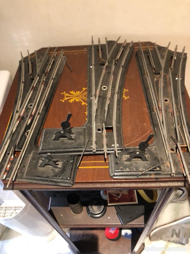 Juguetes antiguos Payá: Lote de pistas de tren antiguas, paya - Foto 2 - 236564005