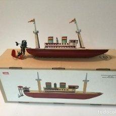 Brinquedos antigos Payá: PAYA BARCO PASAJEROS REF 629 EN CAJA, NUMERADO Y CERTIFICADO. Lote 240245055