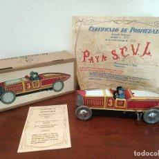Giocattoli antichi Payá: COCHE DE CARRERAS A CUERDA REF. 915 DE PAYA EDICIÓN LIMITADA Y NUMERADA. Lote 240249155