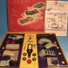 Giocattoli antichi Payá: CAJA CONSTRUCCIONES METALICOS AUTOMÓVILES RAI PAYA. Lote 240333255