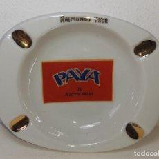 Giocattoli antichi Payá: ANTIGUO CENICERO EN PORCELANA DEL 75 ANIVERSARIO DE JUGUETES PAYA AÑO 1905 - 1980 RAIMUNDO PAYA IBI. Lote 243253775