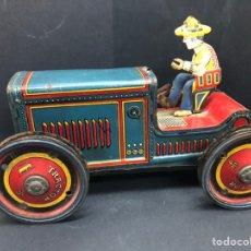 Brinquedos antigos Payá: ANTIGUO TRACTOR A CUERDA FABRICADO EN LATA POR PAYA SERIGRAFIADO NO FUNCIONA VER FOTOS. Lote 243421280