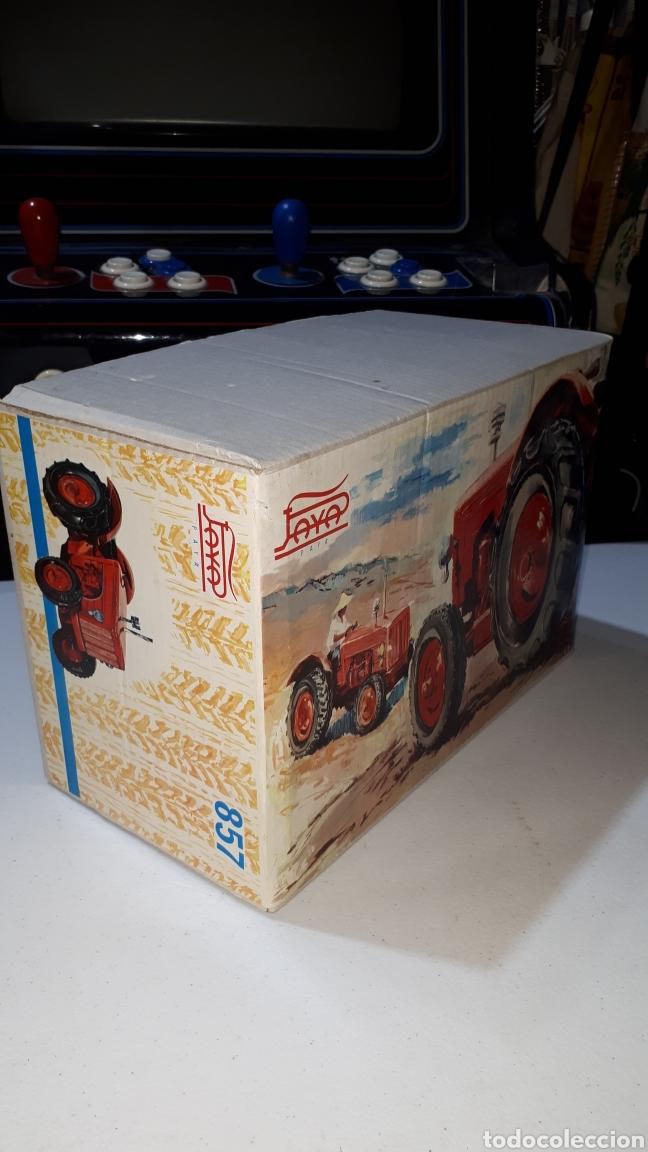 Juguetes antiguos Payá: Parte de arriba caja TRACTOR PAYA 857 - Foto 2 - 244724440