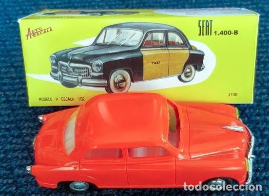 PAYÁ AUTOESCALA 1/32 SEAT 1400B TAXI BARCELONA CAJA (LEER DESCRIPCIÓN) (Juguetes - Marcas Clásicas - Payá)