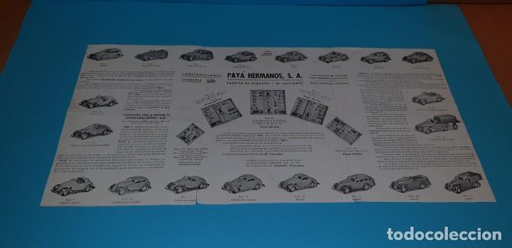 Juguetes antiguos Payá: PAYA (TIPO RICO, JYESA)- CAJA NR0 700 - MONTAJE/CONSTRUCCION DE AUTOMOVILES- , años 50. - Foto 16 - 249585830