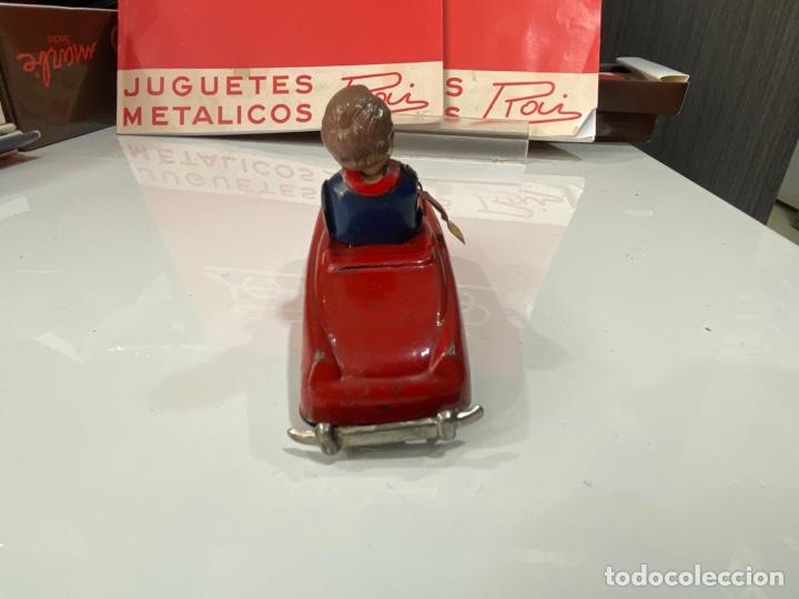 Juguetes antiguos Payá: Payá coche rojo viraje a la derecha - Foto 3 - 251808025