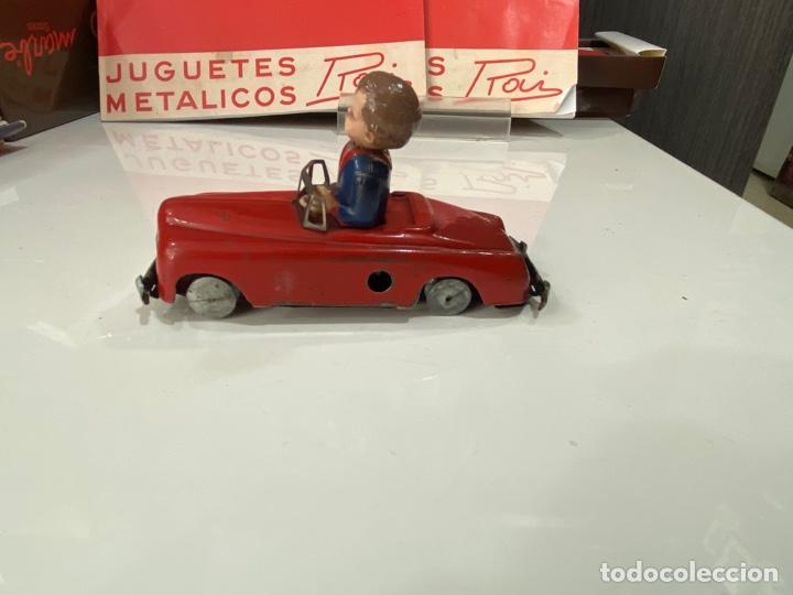 Juguetes antiguos Payá: Payá coche rojo viraje a la derecha - Foto 4 - 251808025