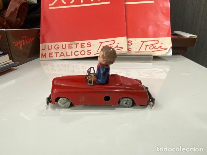 Juguetes antiguos Payá: Payá coche rojo viraje a la derecha - Foto 5 - 251808025