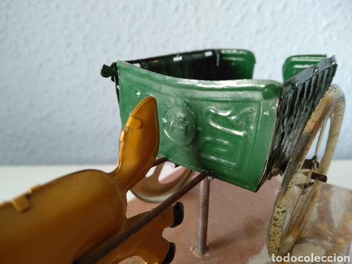 Juguetes antiguos Payá: TARTANA DE PAYA SOBRE PEANA DE MARMOL - Foto 5 - 252091330