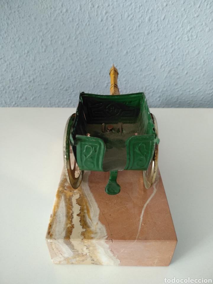 Juguetes antiguos Payá: TARTANA DE PAYA SOBRE PEANA DE MARMOL - Foto 6 - 252091330
