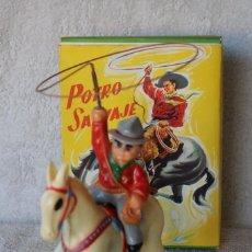 Juguetes antiguos Payá: POTRO SALVAJE - PAYA REF. 673 - COMPLETO - FUNCIONA -. Lote 254688955