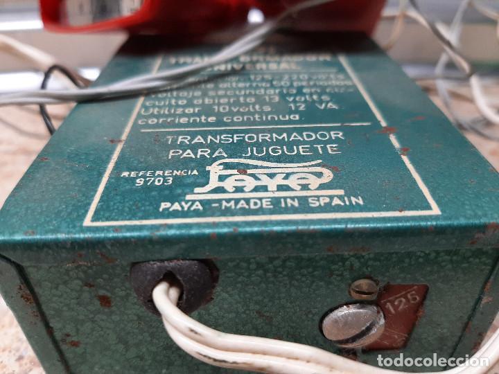 Juguetes antiguos Payá: CONJUNTO STROMBECKER PAYA TRANSFORMADOR Y MANDOS * FUNCIONAN * - Foto 6 - 254819135