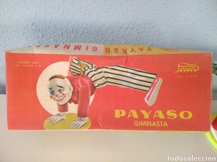Juguetes antiguos Payá: PAYA, ANTIGUO PAYASO GIMNASTA REFERENCIA 636, CON CAJA ORIGINAL - Foto 13 - 255388895