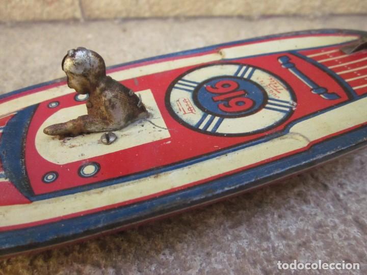 Juguetes antiguos Payá: ANTIGUA LANCHA 616 DE PAYA - Foto 2 - 255925275