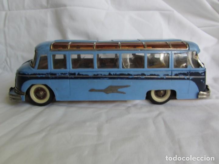 Juguetes antiguos Payá: Autobus Paya Studebaker años 50 de cuerda - Foto 2 - 262587905