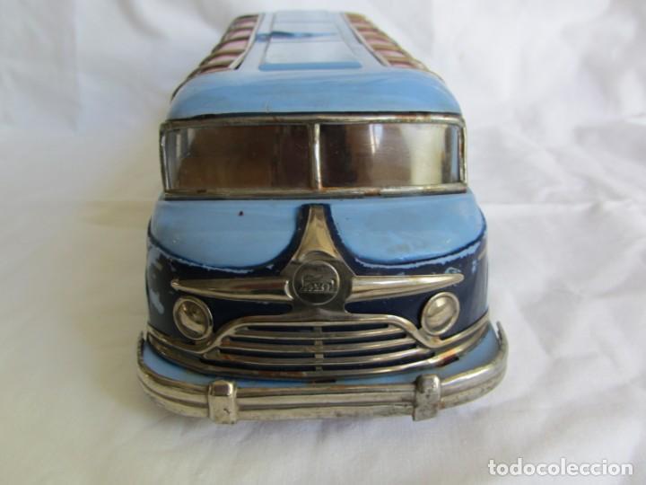 Juguetes antiguos Payá: Autobus Paya Studebaker años 50 de cuerda - Foto 3 - 262587905