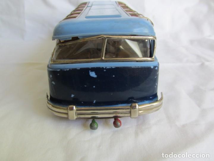 Juguetes antiguos Payá: Autobus Paya Studebaker años 50 de cuerda - Foto 5 - 262587905