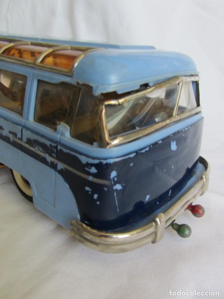 Juguetes antiguos Payá: Autobus Paya Studebaker años 50 de cuerda - Foto 6 - 262587905
