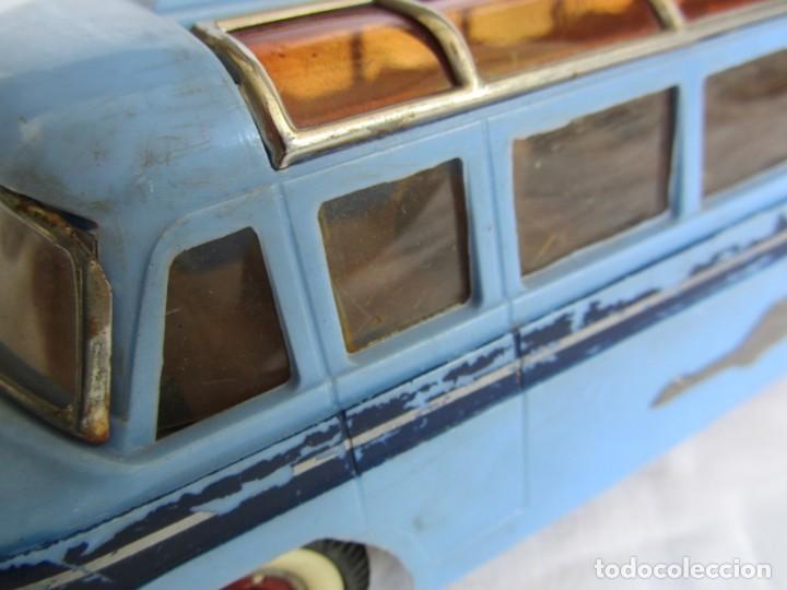 Juguetes antiguos Payá: Autobus Paya Studebaker años 50 de cuerda - Foto 8 - 262587905