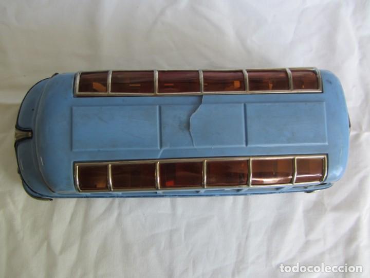 Juguetes antiguos Payá: Autobus Paya Studebaker años 50 de cuerda - Foto 9 - 262587905
