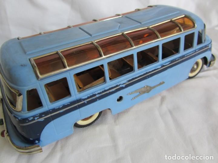 Juguetes antiguos Payá: Autobus Paya Studebaker años 50 de cuerda - Foto 11 - 262587905