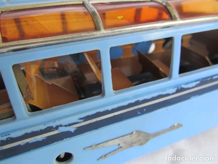 Juguetes antiguos Payá: Autobus Paya Studebaker años 50 de cuerda - Foto 12 - 262587905