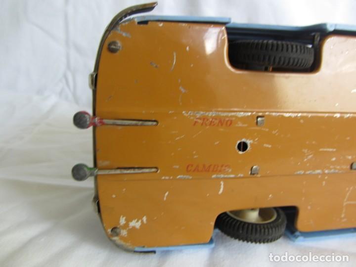 Juguetes antiguos Payá: Autobus Paya Studebaker años 50 de cuerda - Foto 15 - 262587905