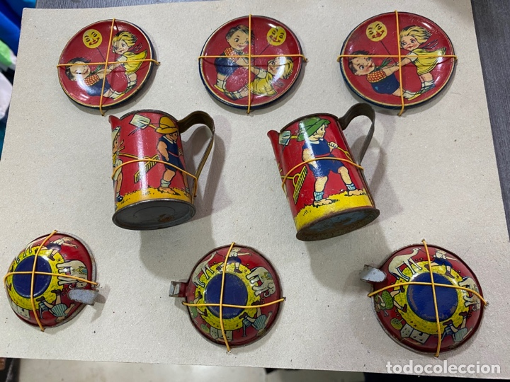 Juguetes antiguos Payá: Tazas platos y jarras Payá - Foto 4 - 262702100