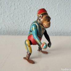 Juguetes antiguos Payá: ANTIGUO MONO DE PAYA CUERDA REFERENCIA 679. ORIGINAL AÑOS 30.. Lote 265909718