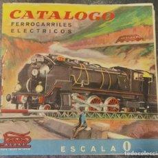 Juguetes antiguos Payá: CATALOGO PAYA FERROCARRILES ELÉCTRICOS ESCALA 0. Lote 268809554
