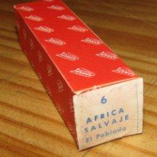 Juguetes antiguos Payá: CINE PAYA - AFRICA SALVAJE, EL POBLADO - PELÍCULA - NUEVA - AÑOS 60. Lote 269119068