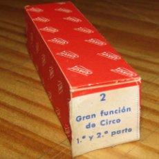 Juguetes antiguos Payá: CINE PAYA - GRAN FUNCION DE CIRCO - PELÍCULA - NUEVA - AÑOS 60. Lote 269119313