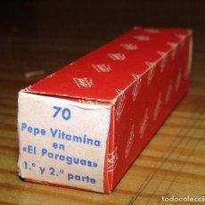 Juguetes antiguos Payá: CINE PAYA - PEPE VITAMINA EN EL PARAGUAS - 1º Y 2º PARTE - NUEVA - AÑOS 60. Lote 269199618
