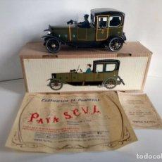 Juguetes antiguos Payá: COCHE PAYA EDICION LIMITADA REF 841 EN CAJA Y CON CERTIFICADO. Lote 275549313