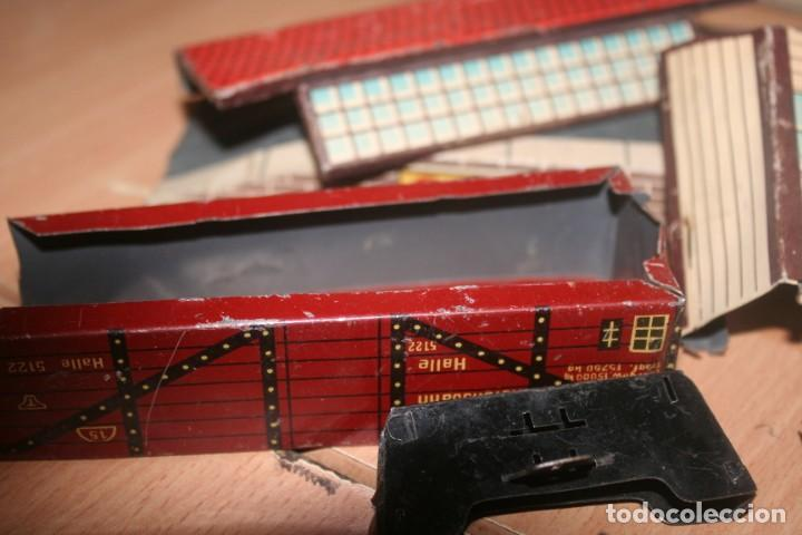 Juguetes antiguos Payá: antiguo tren paya ref 896 hojalata a cuerda escala 0 - Foto 14 - 276486638