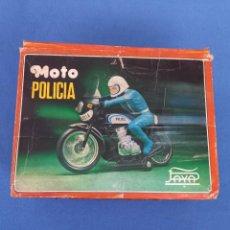 Juguetes antiguos Payá: MOTO POLICIA PAYA AÑOS 70. Lote 286972493