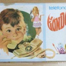 Juguetes antiguos Payá: TELÉFONO GONDOLA. PAYA. AÑOS 70. Lote 296719413