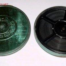 Juguetes Antiguos: ANTIGUA PELICULA 9,5 MM. PATHE BABY - UN FILS D´AMERIQUE - APROX. 1925 - 18 CMS. DIAMETRO. Lote 26305634